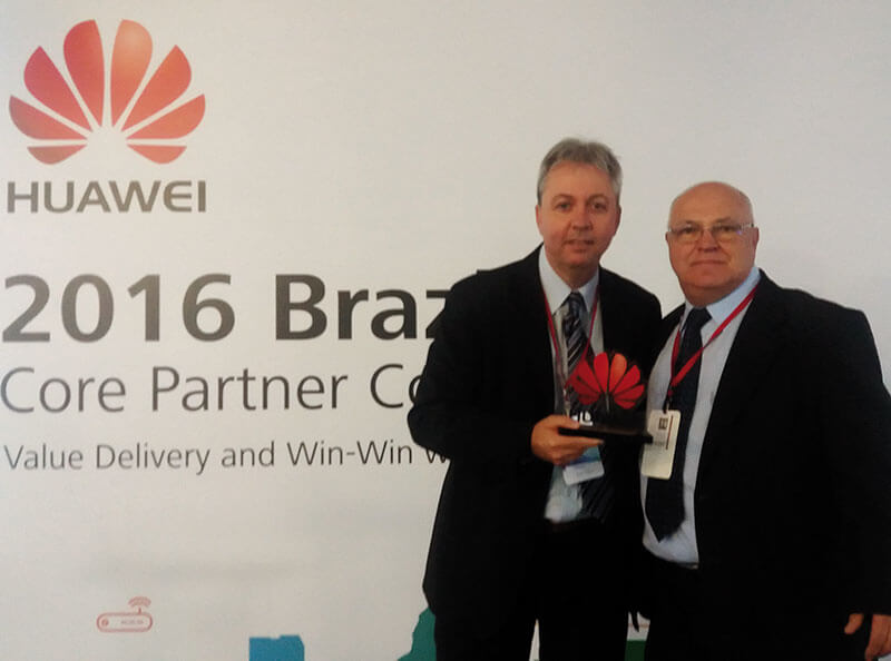 Zopone é premiada pela Huawei na categoria Best Quality Awards