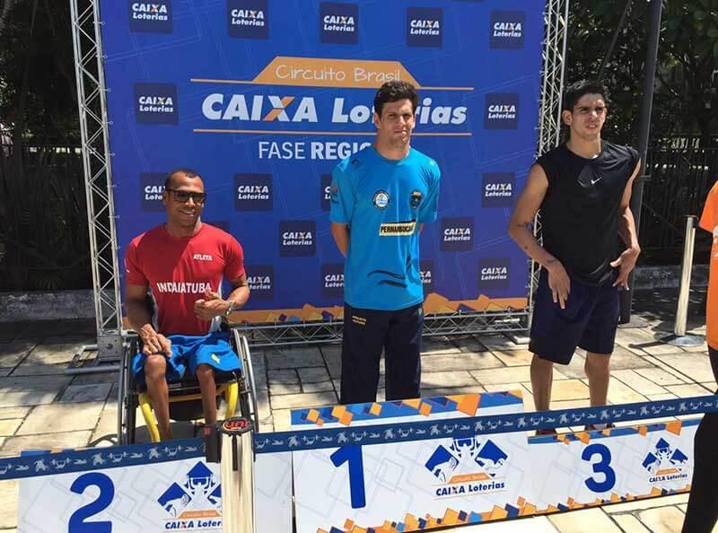 A ABDA conquista, com a equipe PCD, três vagas para as seletivas das Paralímpiadas