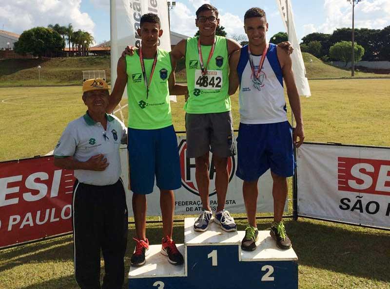 Equipe da ABDA Atletismo conquista excelente resultado em Circuito Sesi/FPA