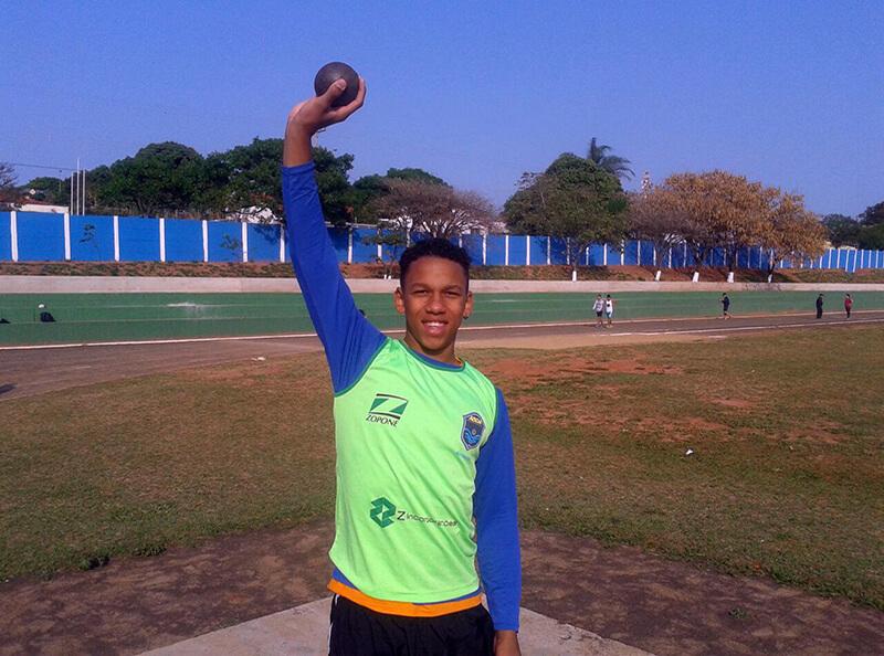 Atleta da ABDA é convocado para Jogos Escolares da Juventude