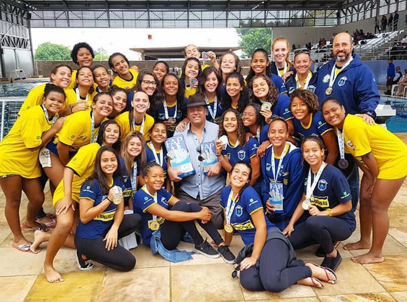 ABDA é campeã do Campeonato Paulista de Polo Aquático sub-17