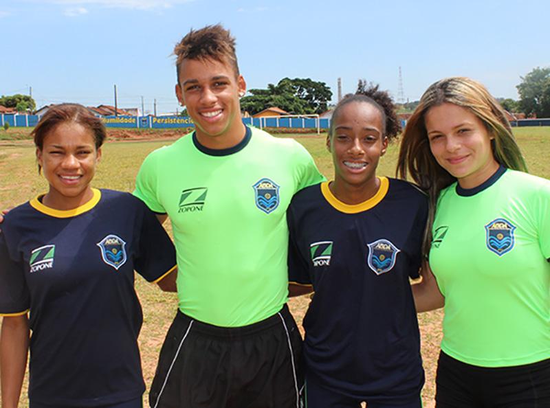 Equipe da ABDA Atletismo compete no Grande Prêmio Sul-Americano Darwin Piñeyrúa, no Uruguai