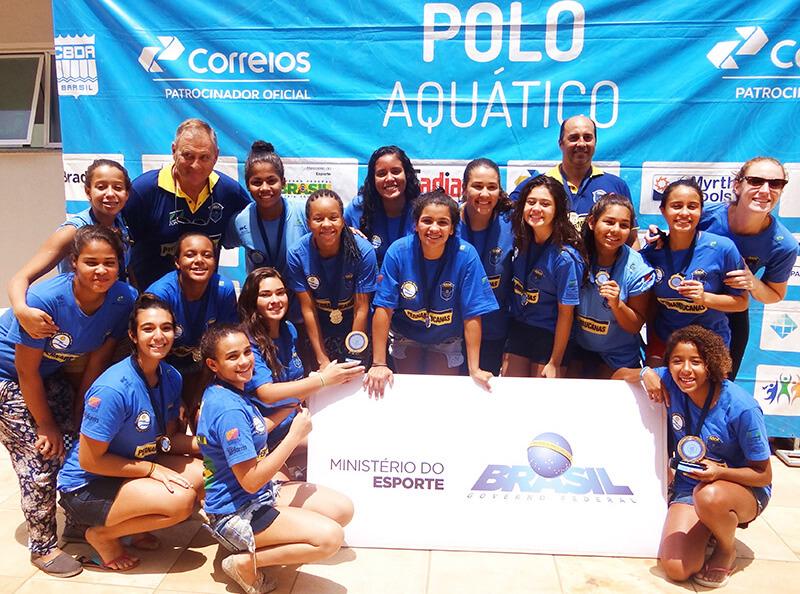 Dois ouros para a ABDA no Brasileiro de Polo Aquático