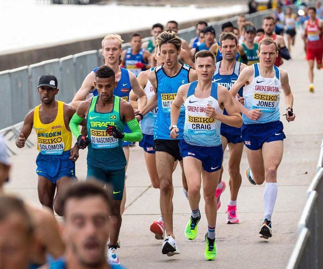 Representando Brasil, atleta da ABDA é 93º do mundo na Meia Maratona