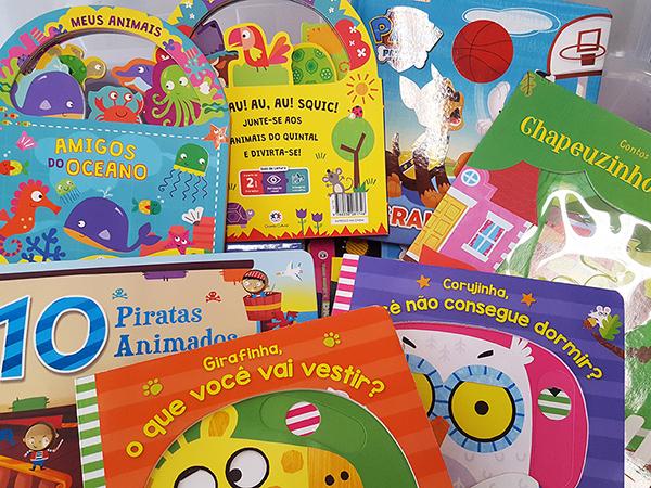 ABDA e Zopone adquirem livros para crianças da associação e Hospital Amaral Carvalho