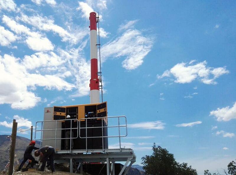 Zopone Chile finaliza obra na Cordilheira dos Andes